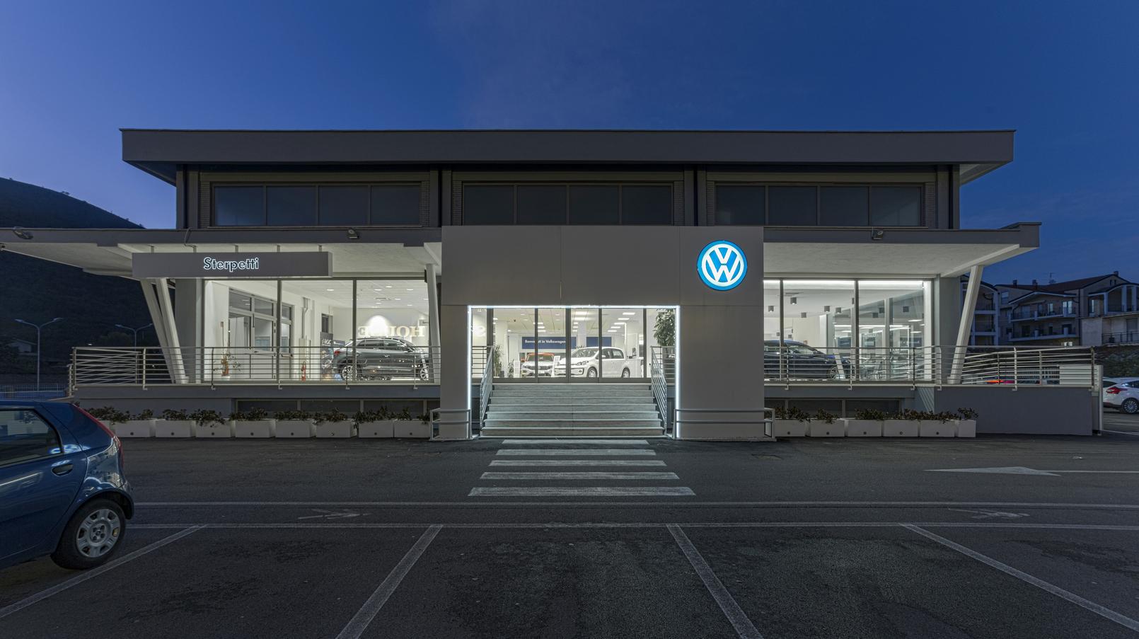 Volkswagen Dealer Studio Di Architettura Candeloro